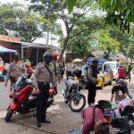Pelaksanaan Operasi Yustisi di CFD Jalan Terusan Rawabango Oleh Polsek Karangtengah
