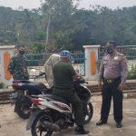 Batibung Koramil 1116/Cikajang Bersama Muspika Banjarwangi Laksanakan Operasi Yustisi