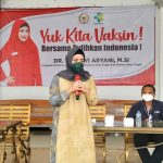 Gandeng Kemenkes dan Dinkes, Dewi Aryani Gelar Vaksinasi di Dapil