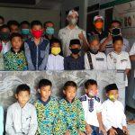 Kodim 0610/Smd Bersinergi DenganYukata Peduli Bangsa Memberikan Bantuan Kepada Panti Asuhan di Kabupaten Sumedang